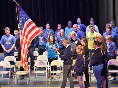 Veterans Day Program at OV, 2017