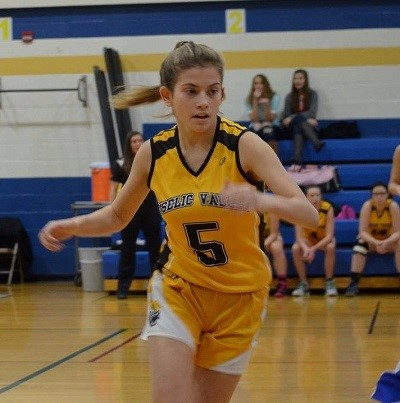 Don't miss Amber Meigs' 1000th point!