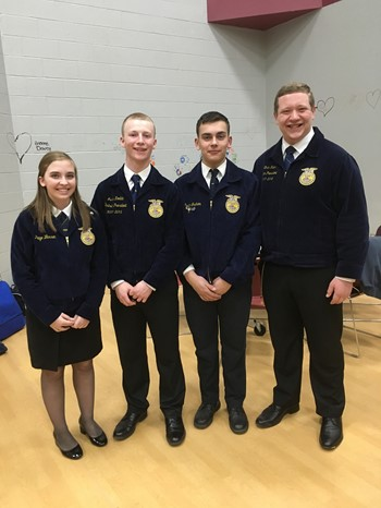 OV FFA at District 4 Leadership Contests