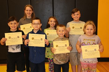 Students of the Month, April 2018