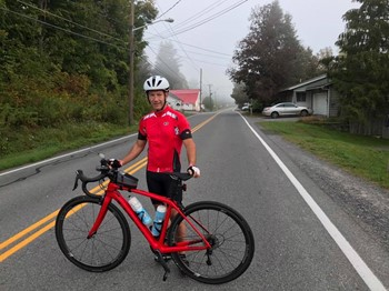 Band Director John Decker and the 100 mile Ride-A-Thon