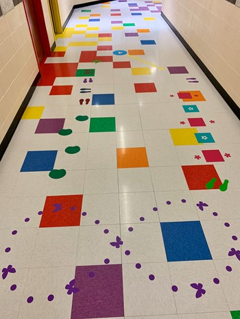 Two movement pathways installed this year