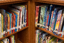 Elementary students can borrow library books to keep all summer