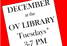December at the Otselic Valley Library