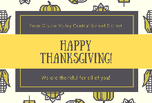 Thanksgiving message from Mr. Berson