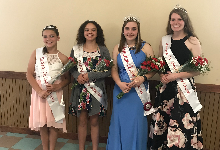 Chenango County Dairy Princesses from O V