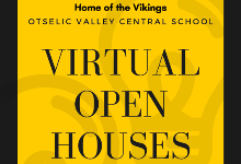 Virtual Open Houses scheduled for October 13, 15
