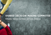 Parent space available in next Shared Decision Making Committee meeting on Jan. 11 via Zoom