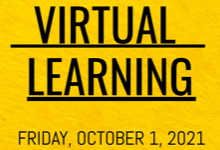 IMPORTANT UPDATE: Virtual learning on Friday, October 1