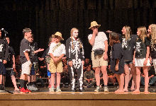 The 6th grade takes the stage to learn, and share, more about ancient history