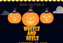 WHEELS AND REELS happening Friday, October 23